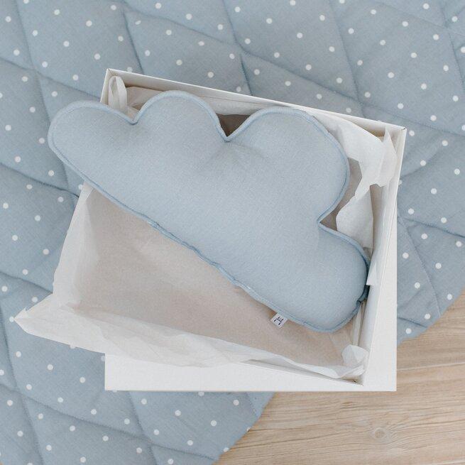 Dekoratyvinė pagalvėlė lininis debesėlis MELSVAS