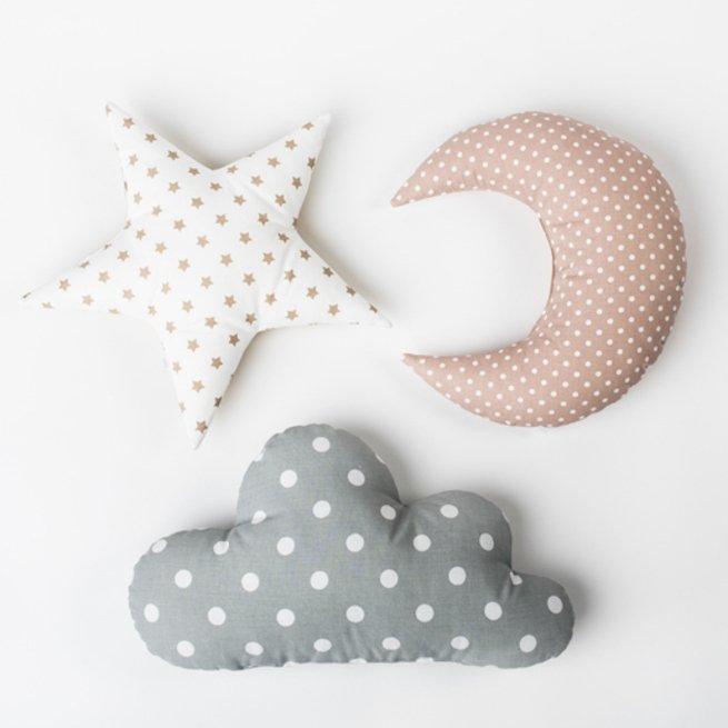 """Dekoratyvinė pagalvėlė """"Pilkas debesėlis"""""""