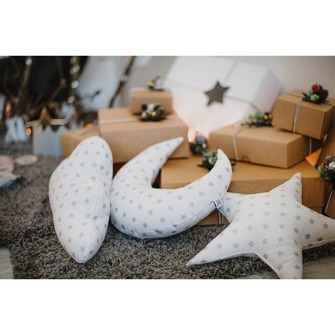 """Dekoratyvinių pagalvėlių rinkinys """"Žėrinčios žvaigždelės"""""""