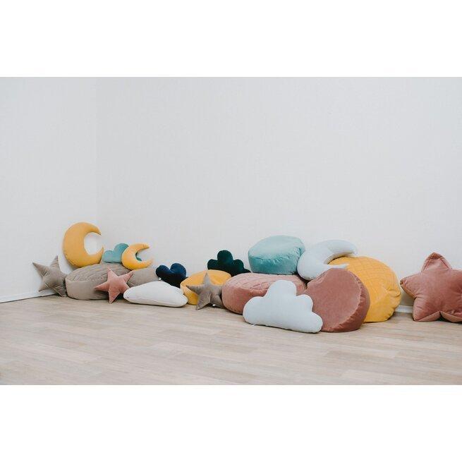 Veliūrinių pagalvėlių rinkinys DEBESĖLIAI