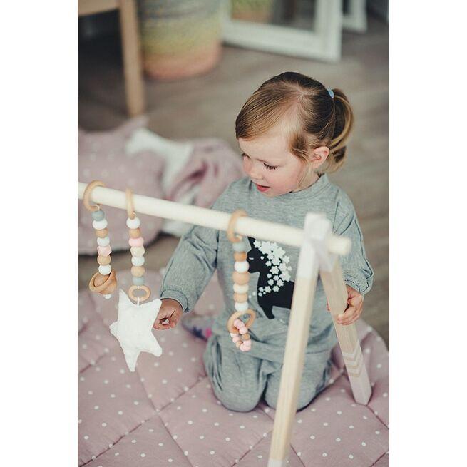 Lavinamojo stovelio žaisliukai RAUSVI