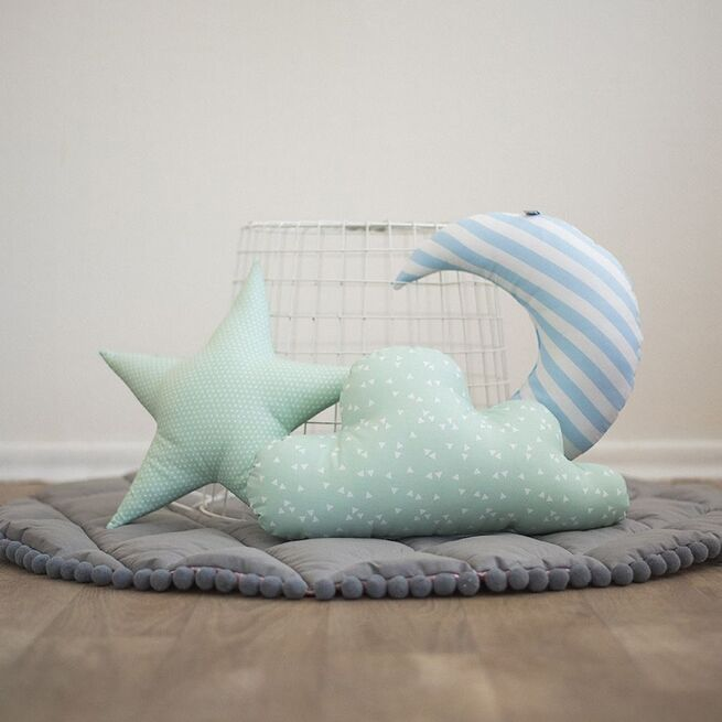 Mėtinis pagalvėlių rinkinys