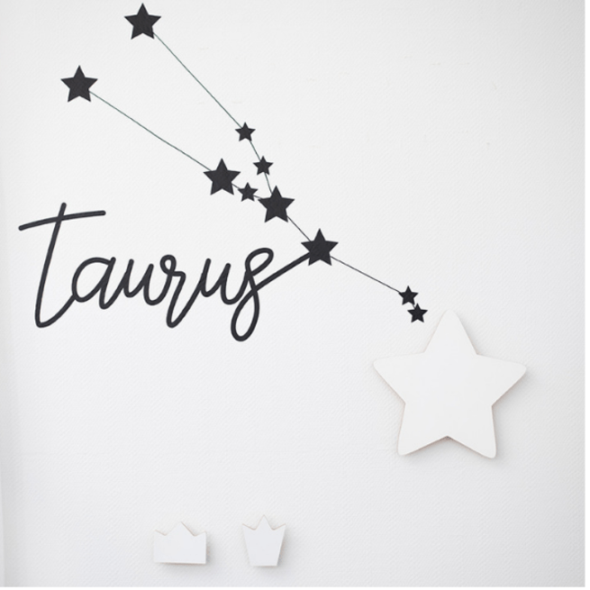Horoskopo žvaigždyno sienos lipdukas
