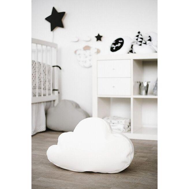 Sėdmaišis - pufas debesėlis SIDABRINIS
